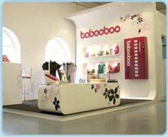 Tabooboo Exhibition Stand